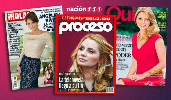 Las polémicas portadas que protagonizó Angélica Rivera