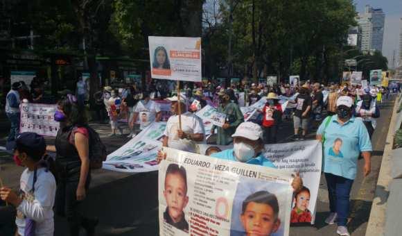 Madres exigen con marcha aparición de sus hijos e hijas | Nacion 321